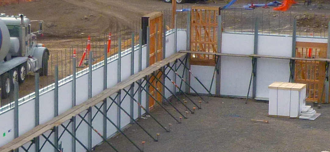 Building with Insulated Concrete Forms-ICF's